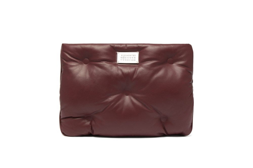 Maison Margiela Glam Slam Quilted Leather Pouch