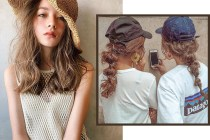 戴帽子別忽略髮型!日本女生精通 10 分鐘出門美髮提案