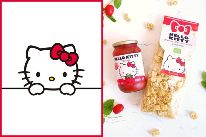 引起外國網民瘋搶的,原來是這款懷舊 Hello Kitty 意粉!