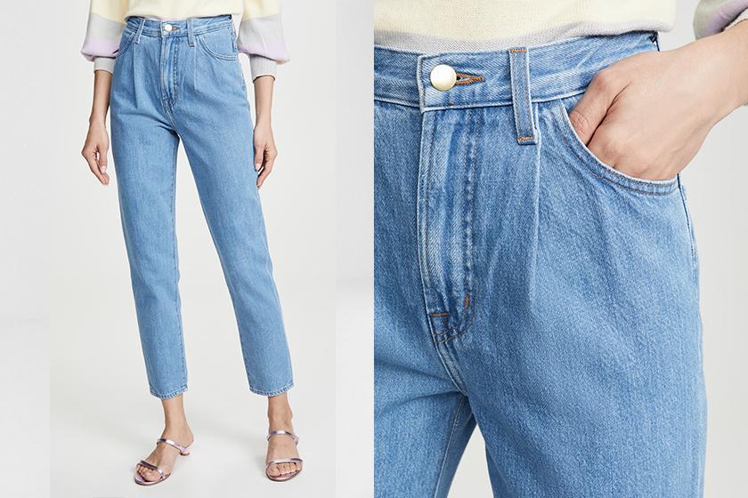 denim trend 2019 paperbag jeans