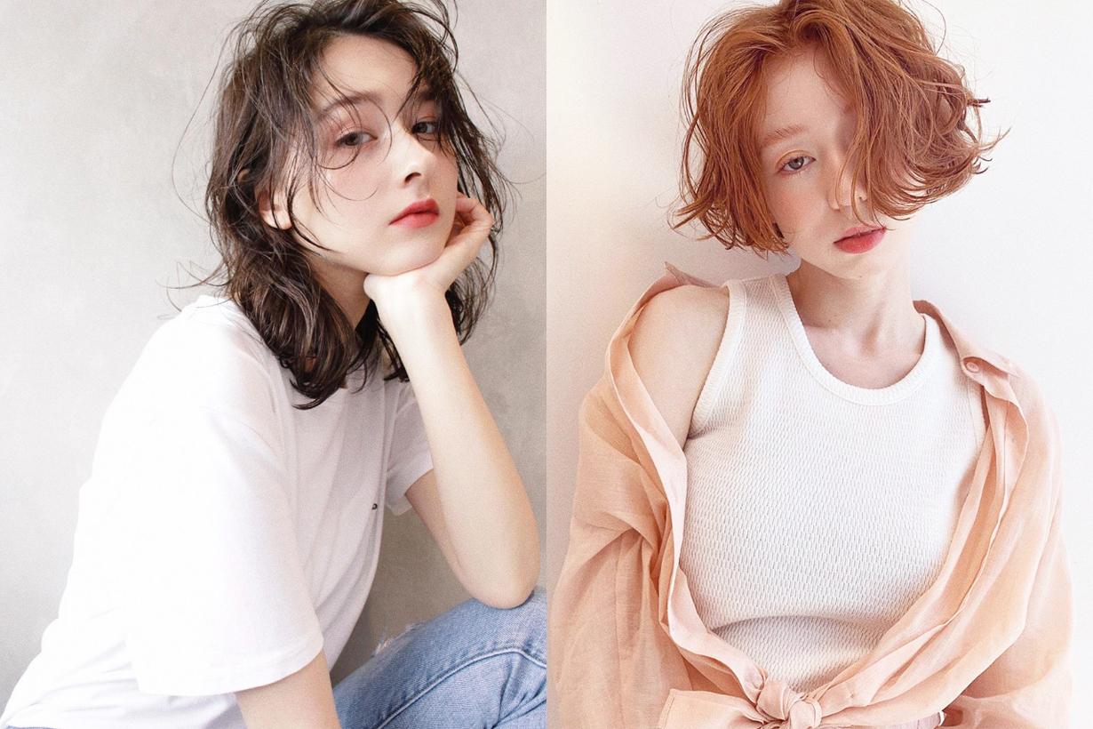 Japanese girls hair colour trend 2019 strawberry milk light pink purple lavender colour hairstyles trend 2019