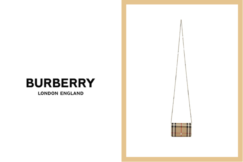 burberry card case shoulder mini bag nova
