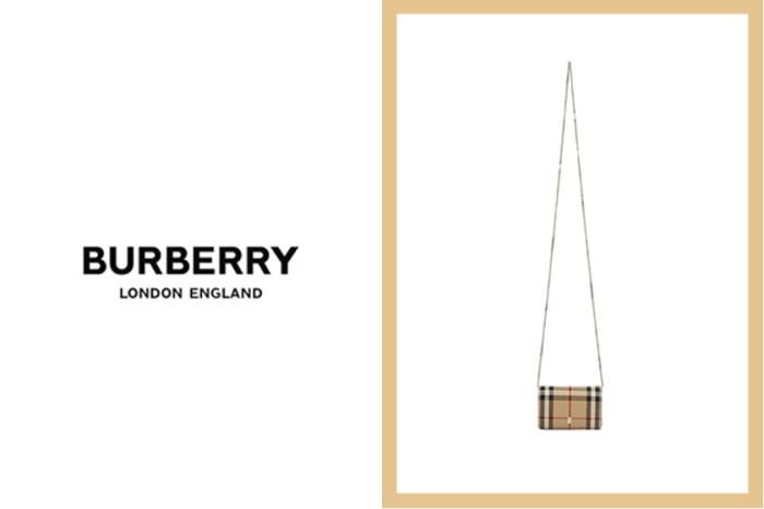 經典格紋再現:Burberry 這款「超迷你」肩背小包,才一曝光就掀起熱烈討論!