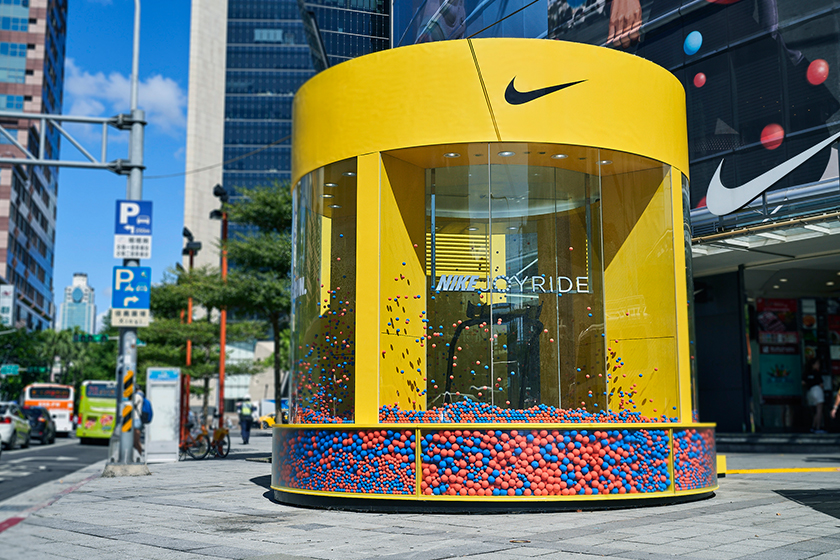 nike joyride taipei taiwan pop up store sneakers