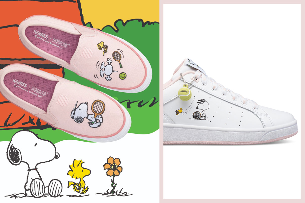 K-Swiss X Snoopy Peanuts collection 2019