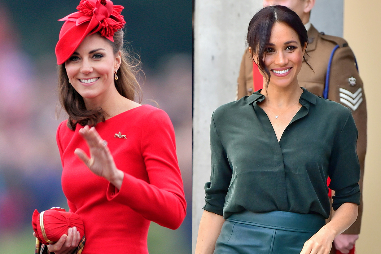 Kate Middleton Meghan Markle never wear orange outfits