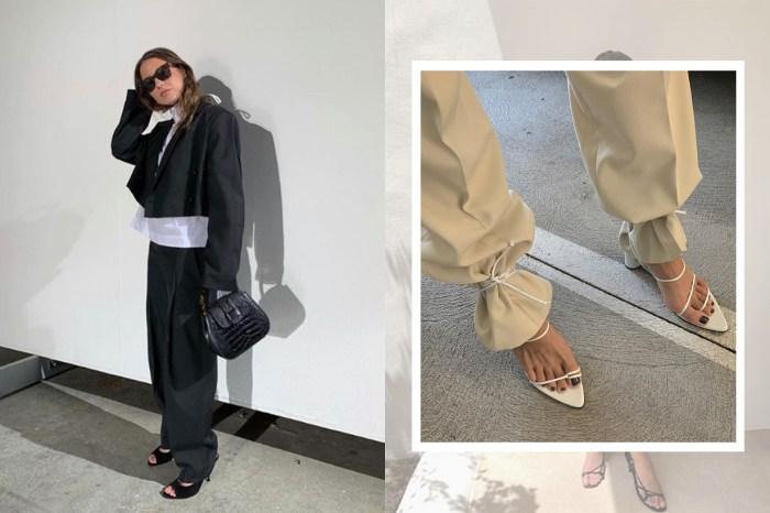 比別人時髦的小秘技:因為 Bottega Veneta,女生紛紛這樣穿涼鞋!