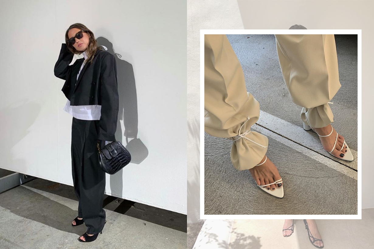 The Lace-Up Sandals Styling Trick According To Bettega Veneta