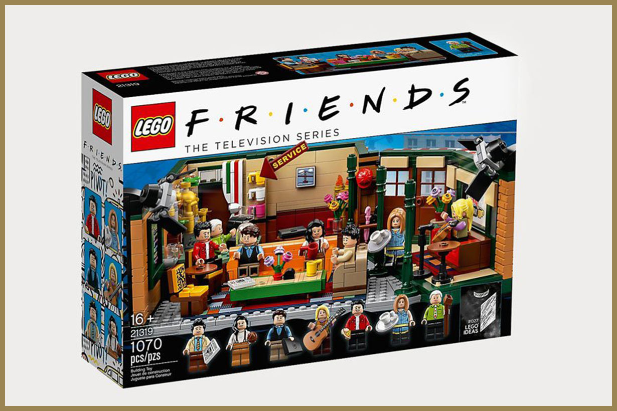 LEGO launches 'central perk' set on 25th anniversary of friends TV show