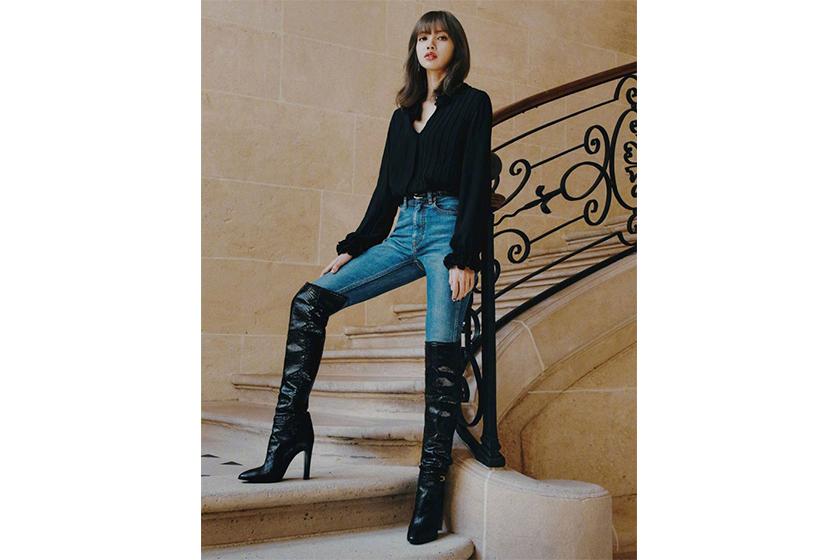 Lisa BLACKPINK Celine  Hedi Slimane Superelle China