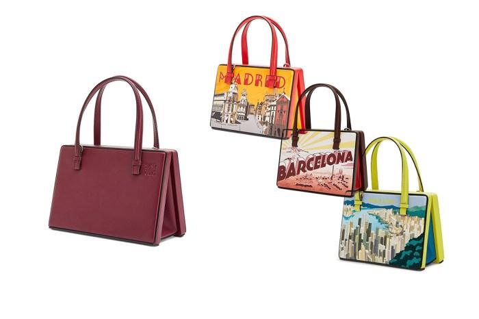 Loewe 推出全新 Postal 手袋,香港的城市風景出現在限量新款上!