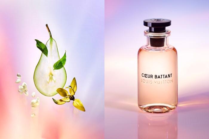 Louis Vuitton 推出新香水,梨子、埃及茉莉的迷人清香讓人心動!