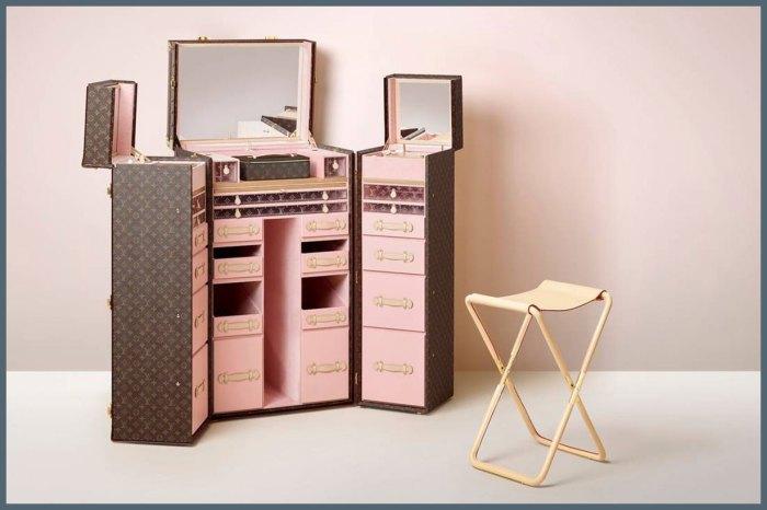 化妝品專屬的行李箱!Louis Vuitton Trunk Collection 推出極致奢華的生活精品