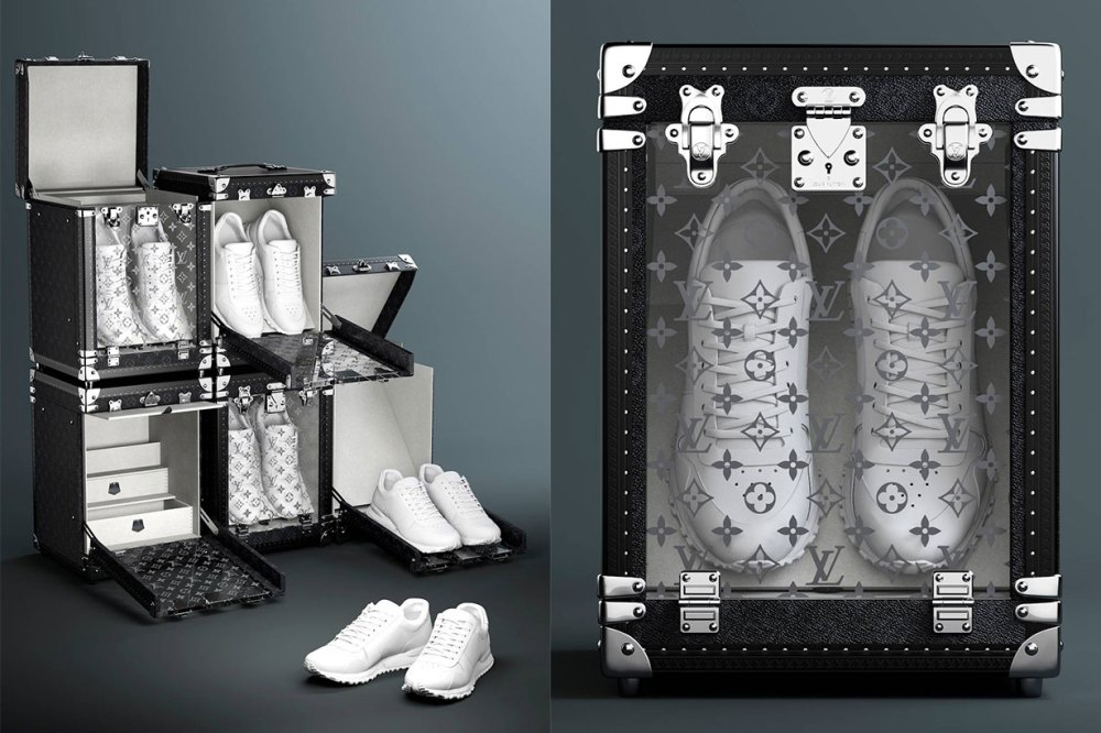Louis Vuitton the Sneaker Trunk