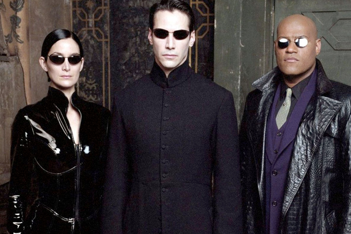 keanu Reeves the matrix back carrie moss neo trinity warner Lana Wachowski