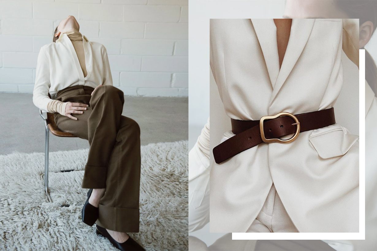 Minimalism Styling Tips By Matches Fashion A Clean Slate Issue