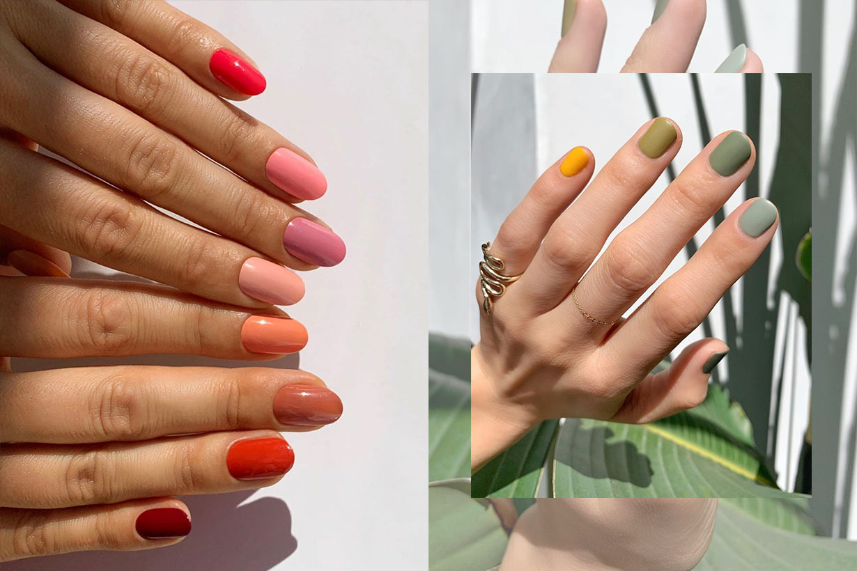 The Skittles Manicure Is Taking Over Instagram