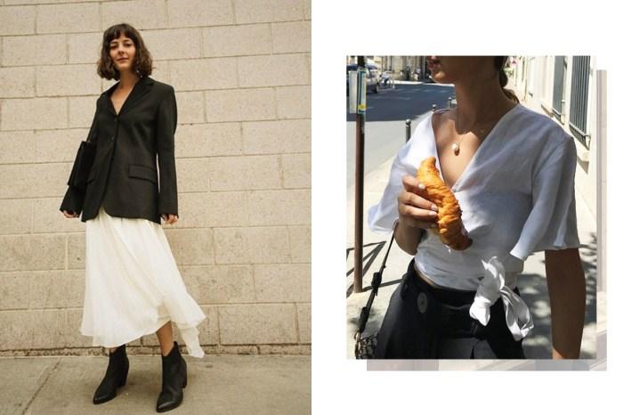 4 件經典時尚單品,紐約 VS 巴黎女生穿搭示範!