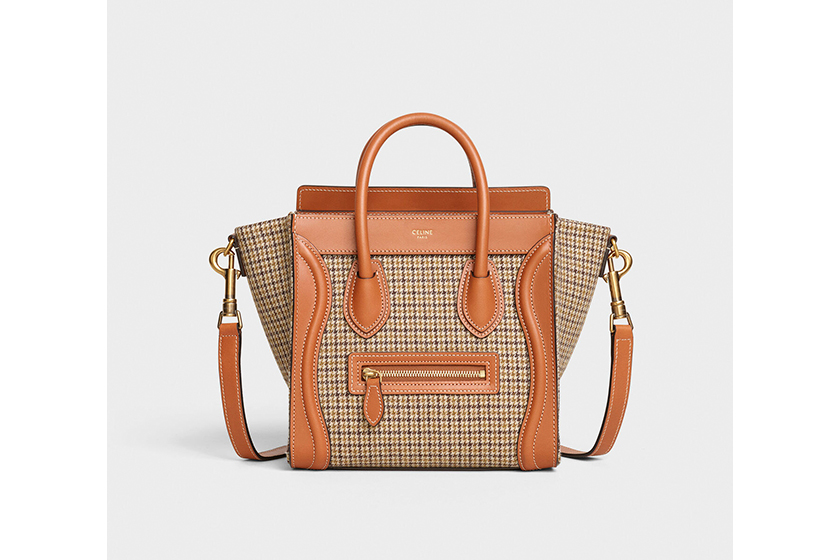 Old Celine:Phoebe Philo 設計的經典手袋 Luggage、Big Bag Bucket 及 Cabas 今季注入英倫學院風格