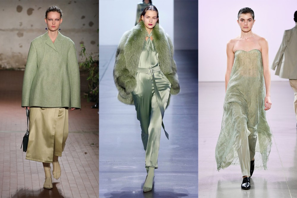 Jil Sander, Sally LaPointe, Ryan Roche 2019 Fall Runway