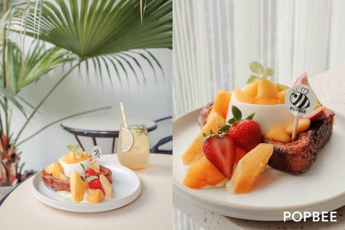 POPBEE x ACME Breakfast CLUB 聯名甜點套餐:夏天絕對不能錯過的「芒果百香果法式吐司」