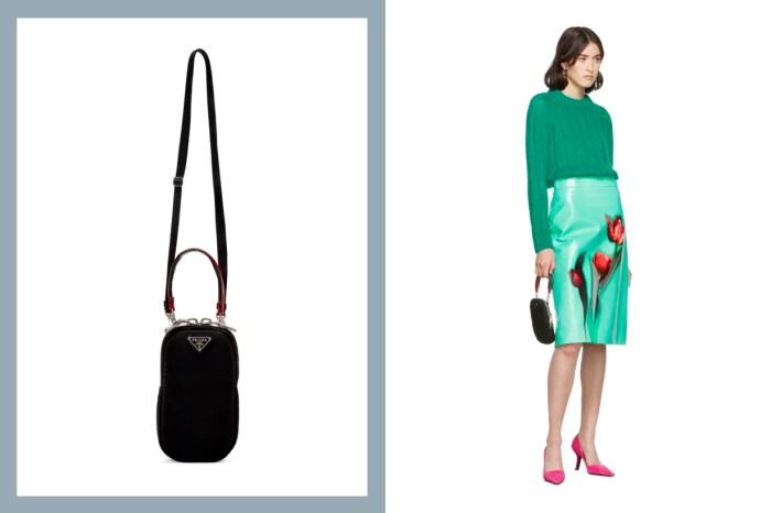 不一樣的手機殼:Prada 設計了「專屬小手袋」,兩種背帶一次滿足!