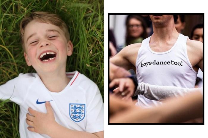 喬治王子被調侃愛跳芭蕾舞,美國舞者立即以這種震撼方法支持他!