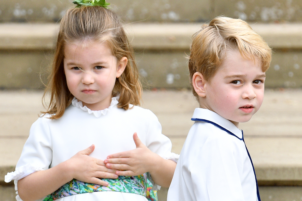 Prince George is a Good Brother