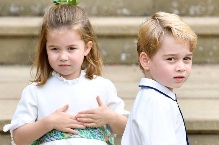 喬治王子是個好哥哥嗎?從小小的舉動看出端倪!