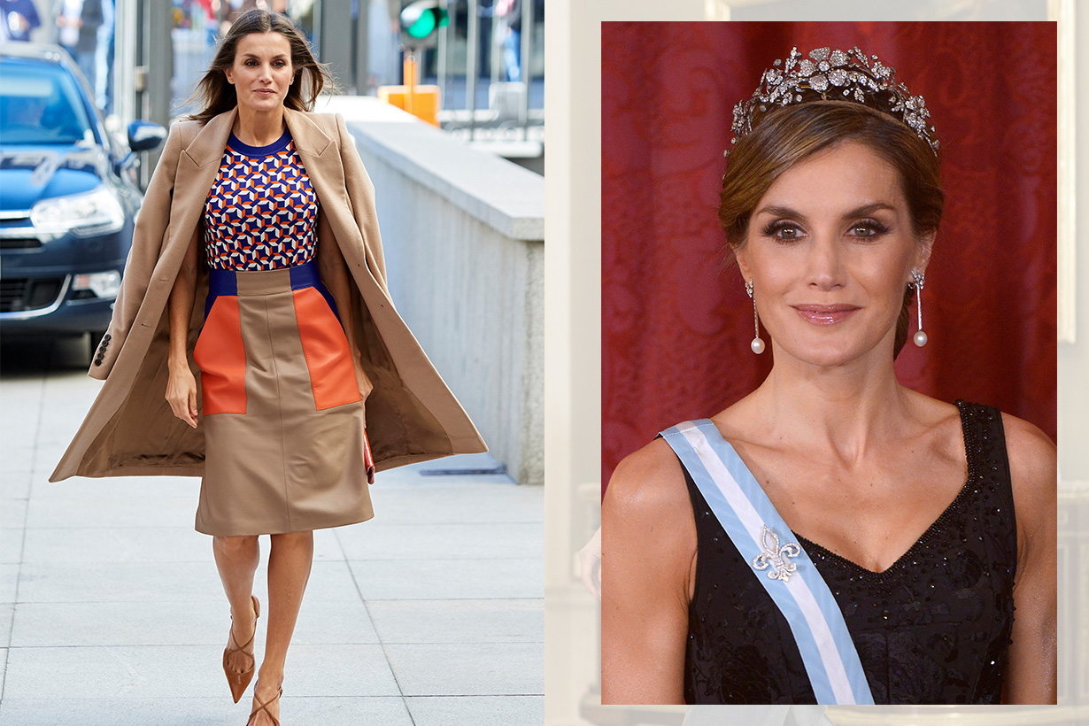 Queen Letizia Outfits Style