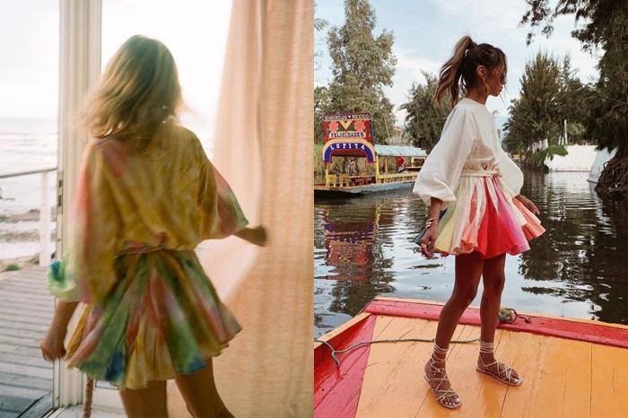 IG 被這品牌的裙子給洗版了!歐美女生現時最愛的度假造型
