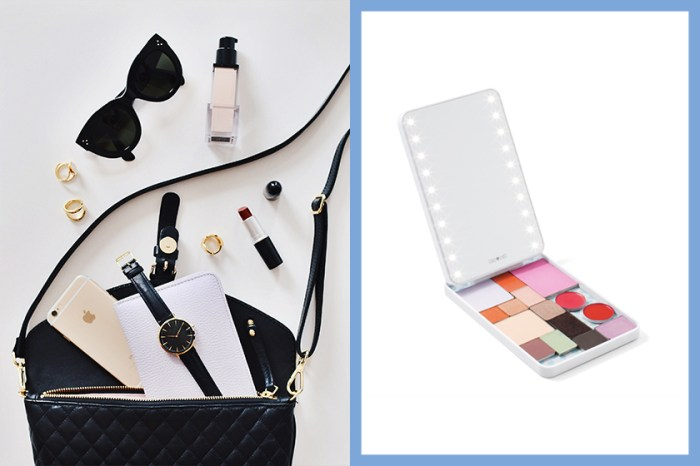 發光鏡 + 化妝品一次過搞定!以後外出旅遊就帶這一盒!