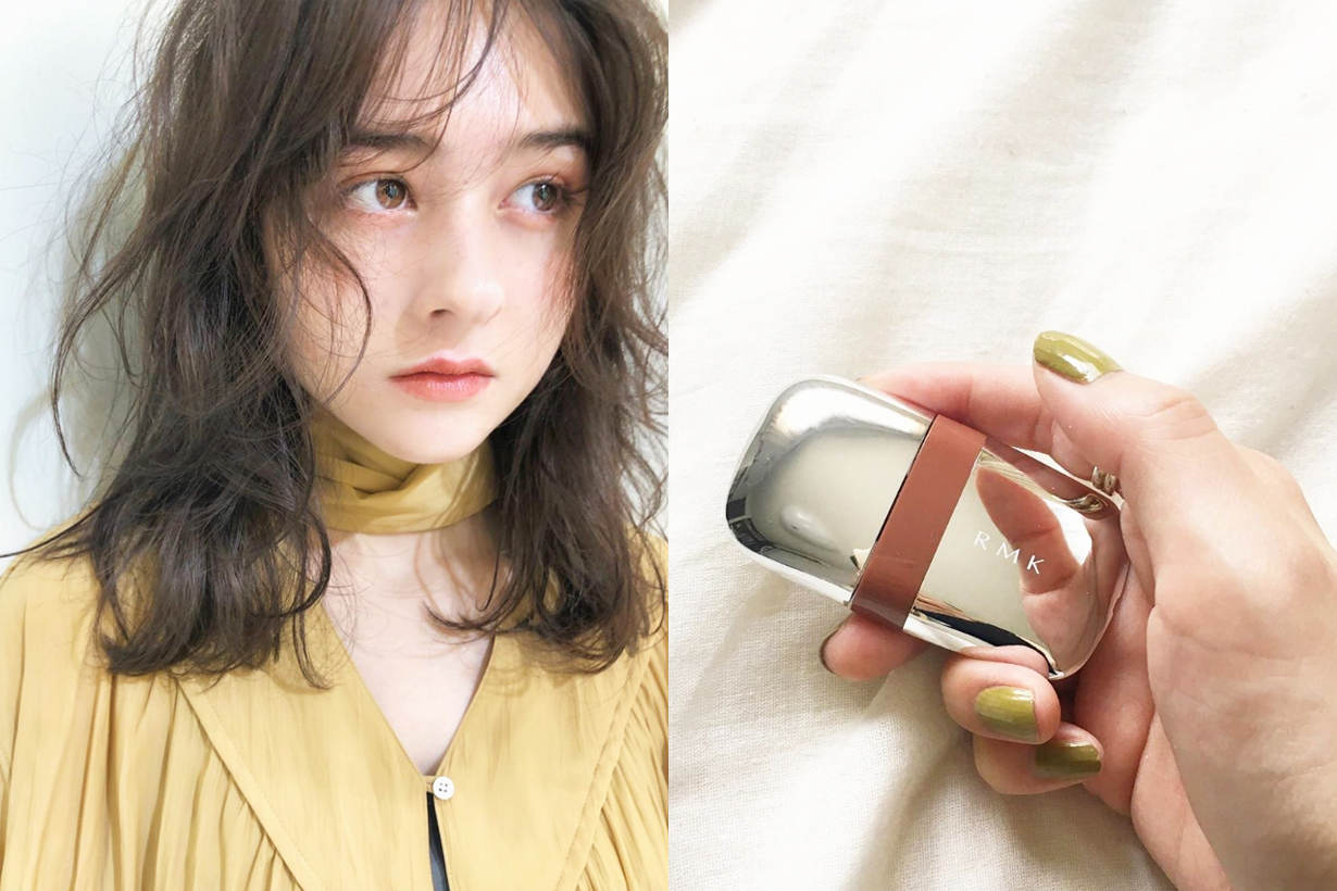 RMK Stone Blossom Lips Lipstick Lip Stain fall winter 2019 makeup collection japanese cosmetics trend japanese girls