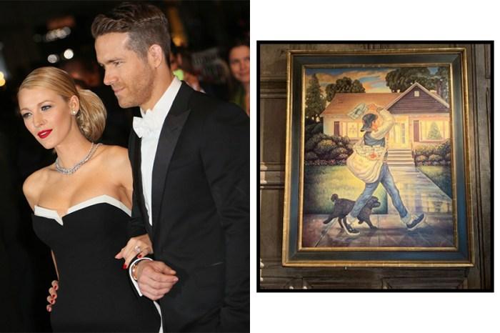 看似普通的畫竟是 Ryan Reynolds 收過 Blake Lively 最好的禮物,原因非常窩心!