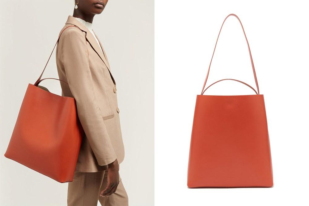 Sac Leather Tote Bag