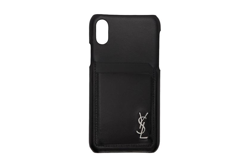 saint laurent leather iphone case release