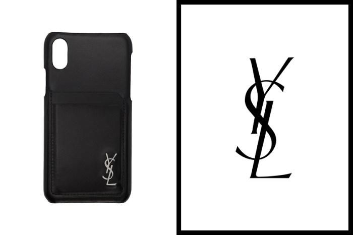 質感取勝!Saint Laurent 推出全黑皮革 iPhone Case 實用奢華兼備!