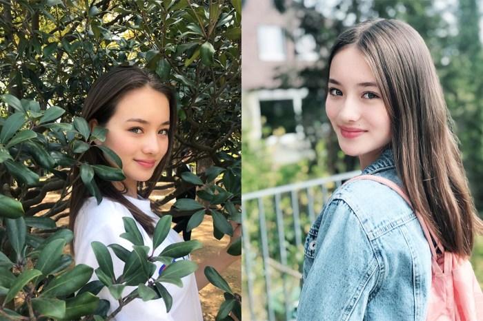 像奇蹟般的美女!這位 13 歲日本瑞士混血模特兒在網絡爆紅!