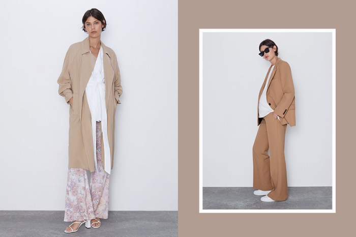 Zara 最新一季推出「孕婦裝」系列,準媽媽也能穿出時髦高級感!