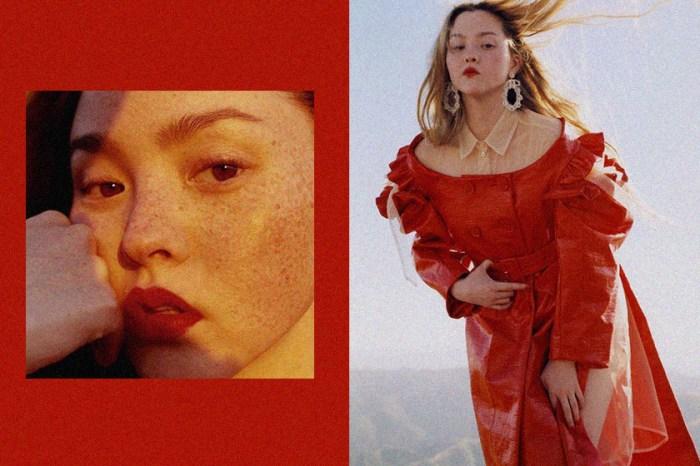 身高 168 公分卻是傳奇超模,戴文青木這一張雜揉日本與歐美的獨特臉孔!