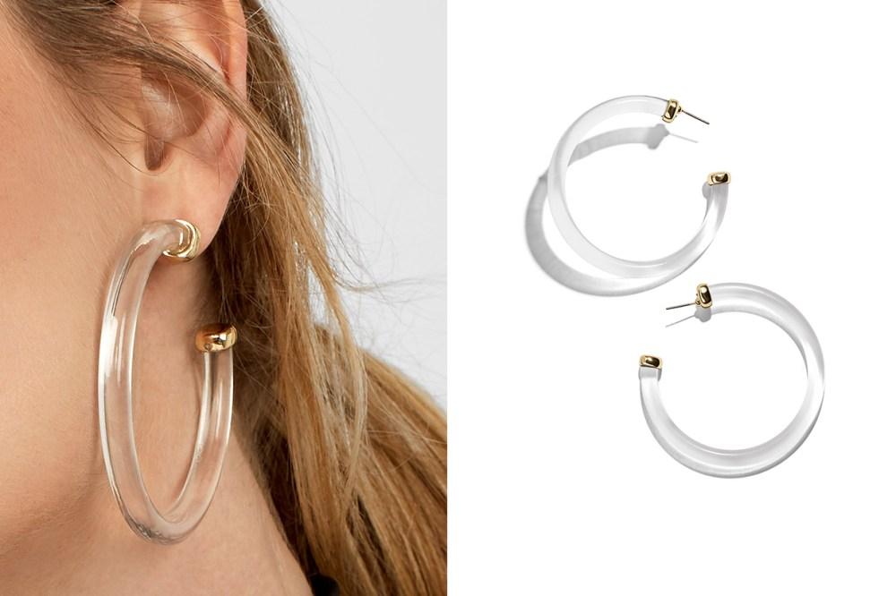 Bella Hadid Vintage earrings baublebar sale event