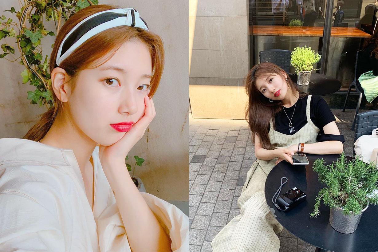 Suzy Bae Su Ji MissA small waist keep fit lose weight celebrities keep fit tips k pop korean idols celebrities actresses