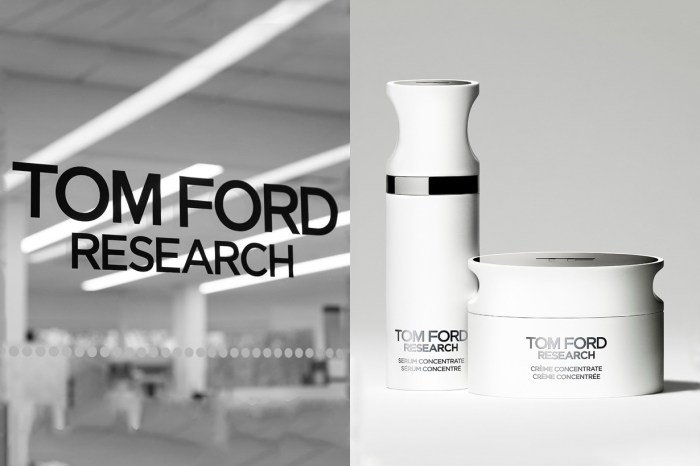 不分男女、膚質都能使用的保養品,認識全新護膚系列「Tom Ford Research」!