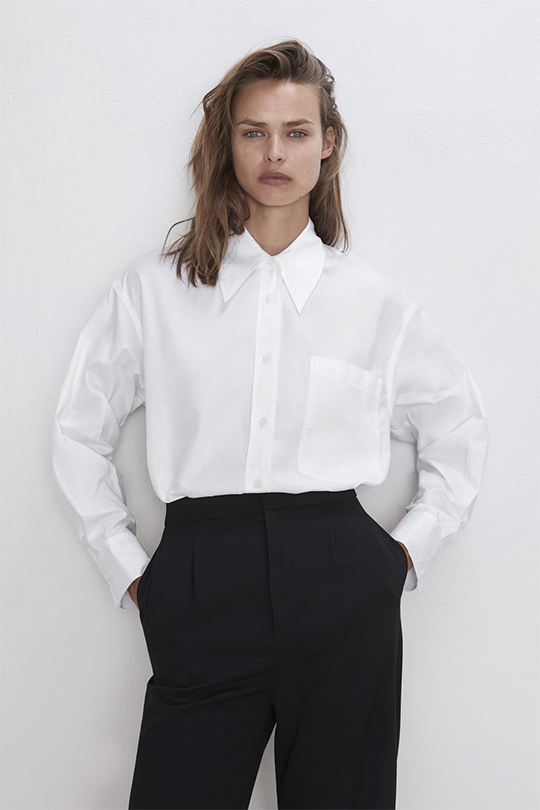 zara minimal collection 2019 lookbook