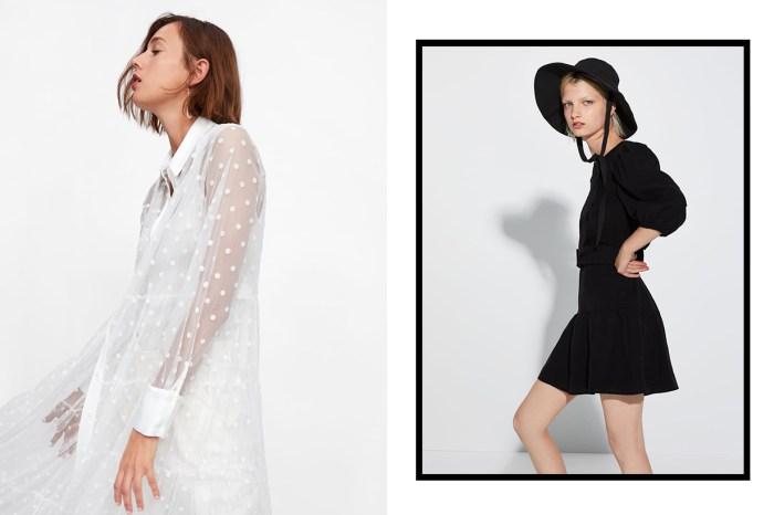 Zara 風靡萬人的 It Dress,剛上架的 2.0 版本更優雅!