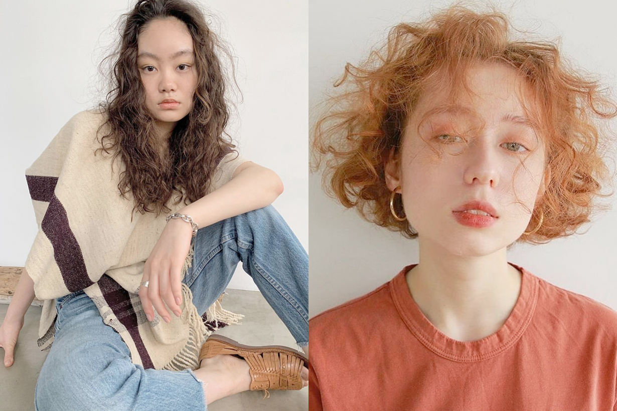 curly hairstyle inspiration japan girl trends 2019