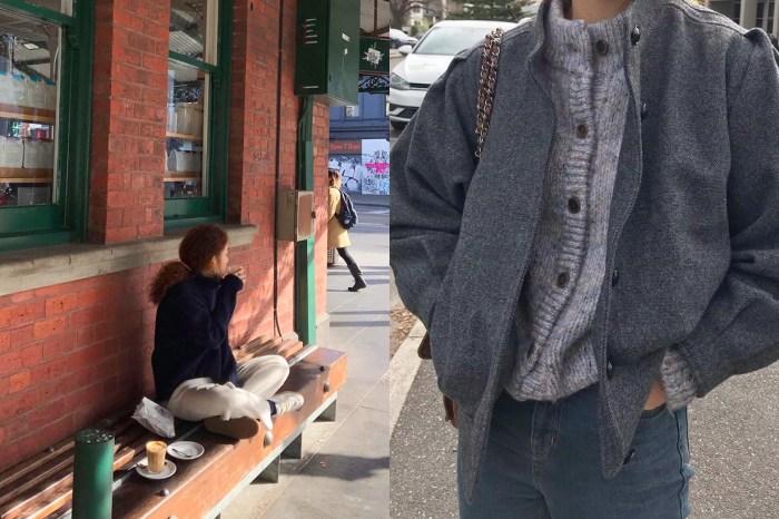 總能將休閒單品搭的時髦,快來向這個韓國女生偷學兩招!