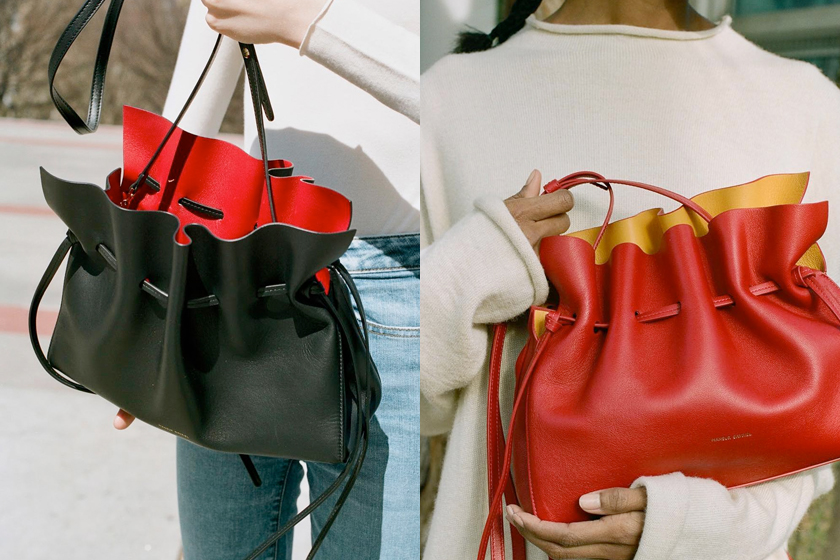 mansur gavriel protea the pouch handbags 2019