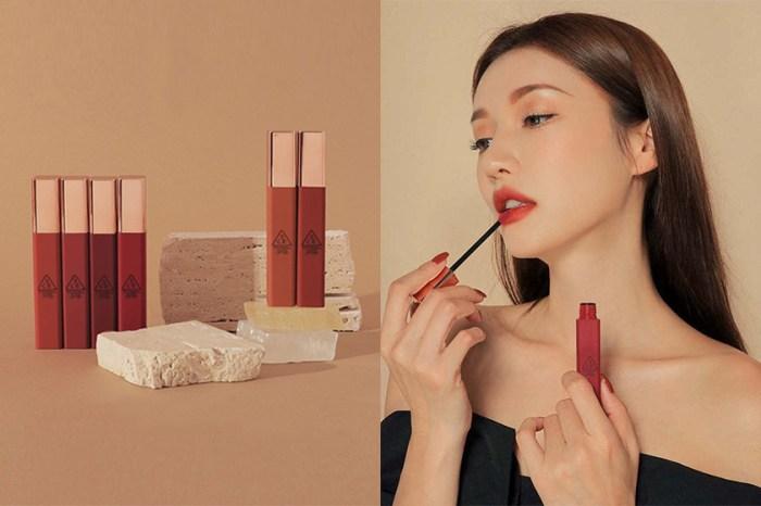 輕盈的柔霧感與高顯色度:3CE 新推出的「雲朵唇釉」在韓國女生間討論度破表!