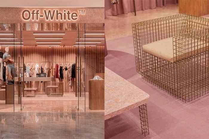 這間全以粉色呈現的店舖竟然是 Off-White 所開:參觀位於新加坡的 Paragon 概念店!